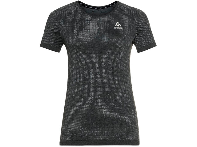 Odlo Blackcomb Pro Crew Neck T-shirt Dames, zwart/grijs